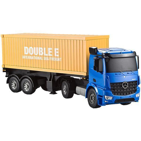 Double Eagle Mercedes Benz Arocs Container Truck RC 1:20
