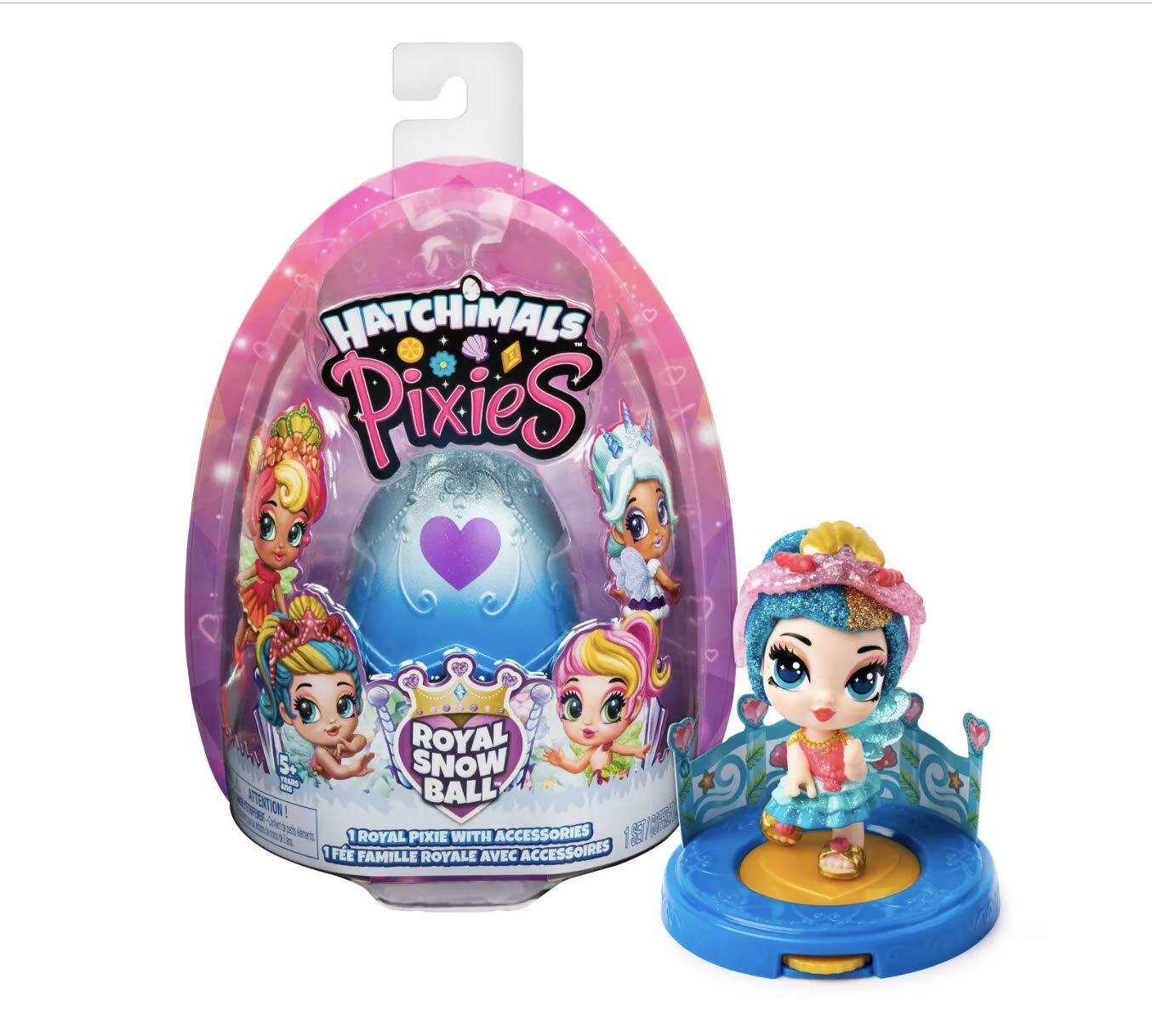 Hatchimals Pixies Royal SnowBall Mystery Egg Pink #P8711