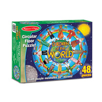 Melissa & Doug Children Around the World Floor Puzzle 48pc 2866