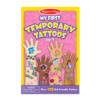 Melissa & Doug My First Temporary Tattoos Girl 2946