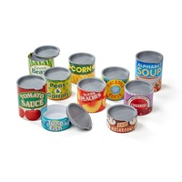 Melissa & Doug Play Food Cans 4088