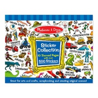 Melissa & Doug 500 Sticker Collection Blue