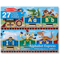 Melissa & Doug Alphabet Express 27pc Floor Puzzle