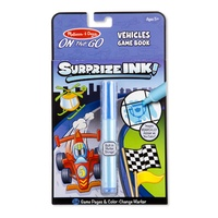 Melissa & Doug On the Go Surprise Ink! Vehicles Game Book