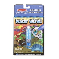 Melissa & Doug On the Go Water WOW! Dinosaurs Water-Reveal Pad
