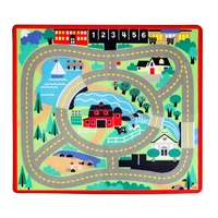 Melissa & Doug Round the Town Road Rug & Vehicles