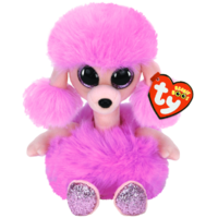 TY Beanie Boos Medium Camilla Poodle Long Neck