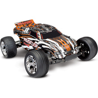 TRAXXAS Rustler Ready-To-Race Radio Control 55 Kmh with Battery & Charger 37054-1 Orange