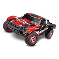 TRAXXAS Slash Ready-To-Race Radio Control 48 Kmh with Battery & Charger 58034-1 RED