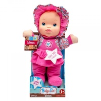 Baby's First Machine Washable Kisses Doll 34cm