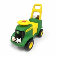 John Deere Sit And Scoot Tractor With Accessories