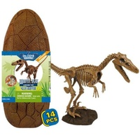 Dr Steve Hunters Jurassic Eggs Velociraptor Assembly Set