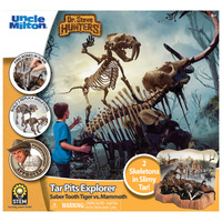 Dr Steve Hunters Tar Pits Explorer - Saber Tooth Tiger vs Mammoth