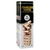 Cardinal Games Classic 48 piece Tumbling Tower in a tin