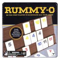 Classic Rummy-O Game in Tin