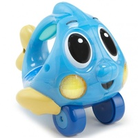 Little Tikes Push N Glow Fish - Blue
