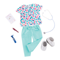 Our Generation Healthy Paws Vet Doll Outfit