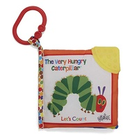 The Very Hungry Caterpillar Soft Teether Book