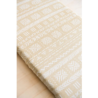 Kiin Sand Fitted Bassinet/Change Mat Sheet