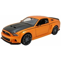 Maisto Assembly Line 2014 Ford Mustang Street Racer 1:24 Scale Model Kit Metal