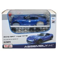 Maisto Assembly Line 2013 SRT Viper GTS 1:24 Scale Die-Cast Model Kit