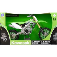 Kawasaki KX450F Dirt Bike Diecast 1:6 scale