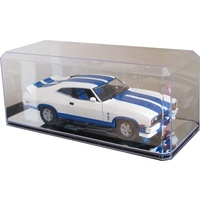 1:18 Single Display Case - 8 Pack Mirrored