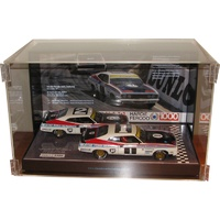 Twin 1:18 Scale Form Finish Display Case Biante Classic Carlectable Autoart Maisto