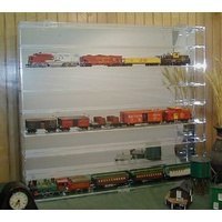 32 HO Scale Train Display Case
