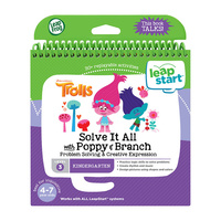 Leap Frog LeapStart Trolls Problem Solving Activity Book Level 3