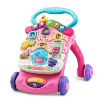 Vtech Baby First Steps Baby Walker Pink New