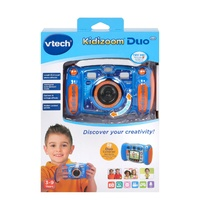 Vtech Kidizoom Duo 5.0 Blue Camera