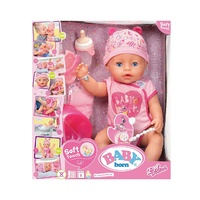 Baby Born Doll Soft Touch Girl Blue Eyes
