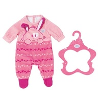Baby Born Romper Pink or Blue One Supplied