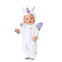 Baby Born Unicorn All-In-One Doll Clothes Set 43cm