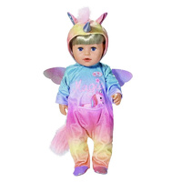 Baby Born Doll Unicorn All-in-One Suit 43cm