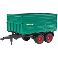 Bruder Tandem Axle Tipping Trailer with Removable Top 1:16 Scale 02010