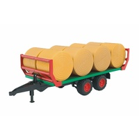 Bruder Bale Transport Trailer with 8 Bales 1:16 Scale 02220