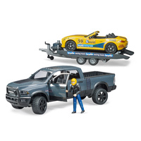 Bruder Dodge RAM 2500 Power Wagon with Roadster Racing Team 02504