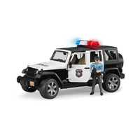 Bruder JEEP Wrangler Rubicon Police with Driver 02526