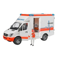 Bruder Mercedes Benz Sprinter Ambulance with Driver 1:16 Scale 02536