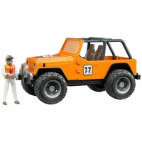 Bruder Jeep Cross Country Racer Orange with Driver 1:16 Scale 02542