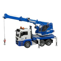 Bruder MAN TGS Crane Truck with Lights and Sounds 1:16 Scale 03770