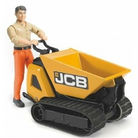 Bruder World JCB Dumpster HTD-5 with Construction Worker 62004
