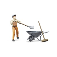 Bruder Municipal Worker Figure Set 62130