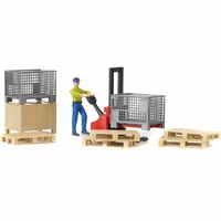 Bruder World Figures Set - Logistics 62200