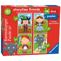 Ravensburger Storytime Friends My First Puzzles