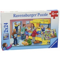 Ravensburger The Busy Post Office 2x24pc Puzzle