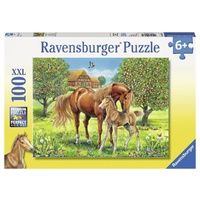 Ravensburger Horses In The Field 100pc XXL Puzzle 10577
