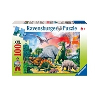 Ravensburger Among The Dinosaurs 100pc XXL Puzzle 10957